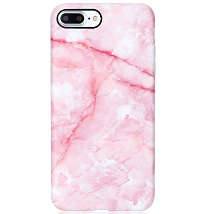 iphone 8 case pink marble
