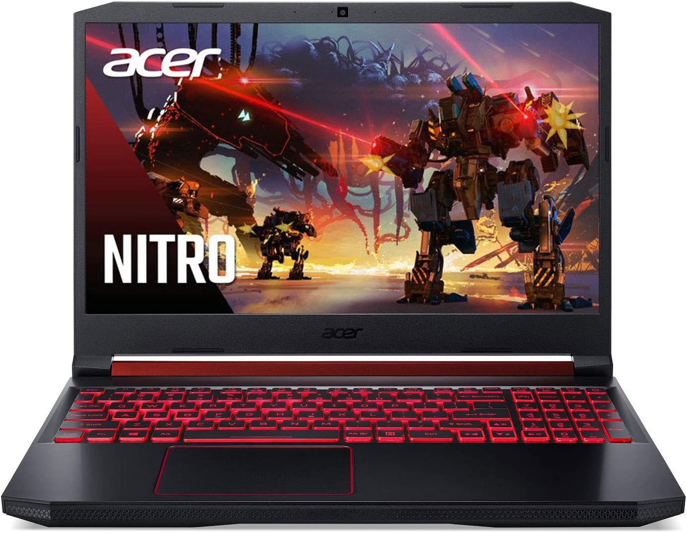 "Acer Nitro 5 Gaming Laptop, 9th Gen Intel Core i7-9750H, NVIDIA GeForce RTX 2060, 15.6"" Full HD IPS 144Hz Display, 16GB DDR4, 256GB NVMe SSD, WiFi 6, Waves MaxxAudio, Backlit Keyboard, AN515-54-728C"