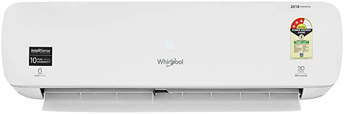 Whirlpool 1 Ton 3 Star Inverter Split AC (1.0T 3DCOOL PURAFRESH INV 3S COPR,WHITE)