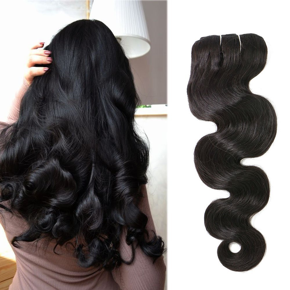 120 Gram Remy Clip in Hair Extensions Kinky Straight Hair Natural Color for Black Women Full Head Clip on Human Hair Extensions Hair Human Hair JINCHAN Hair Factory