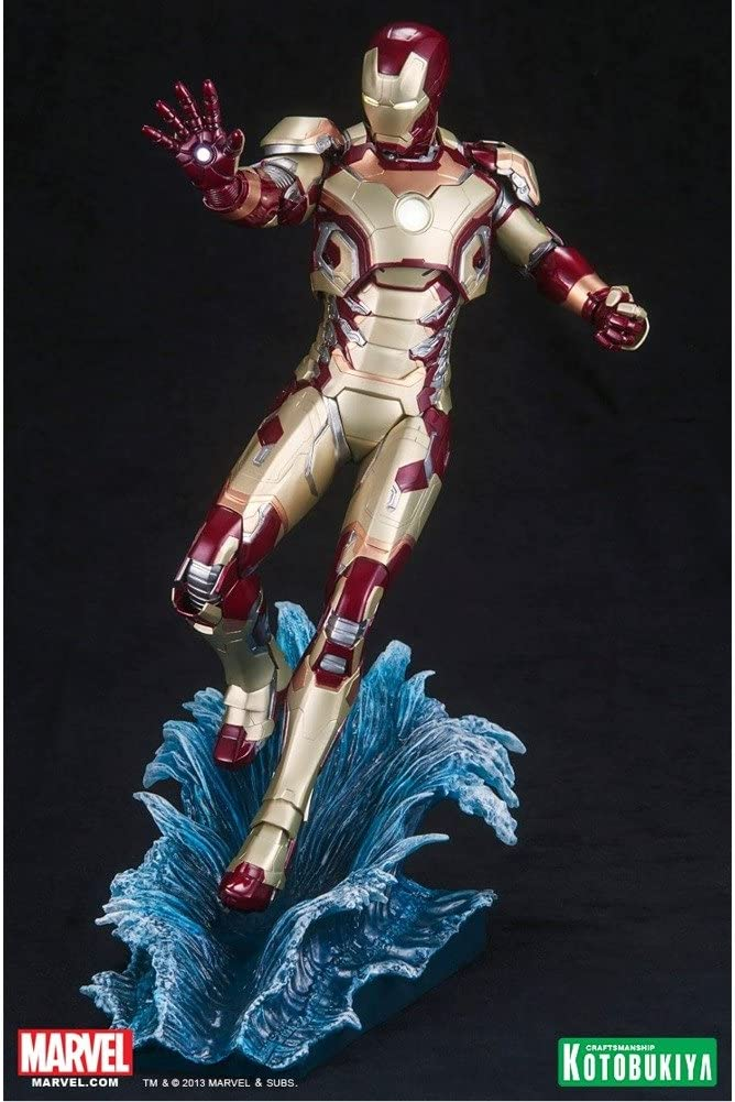 Kotobukiya Iron Man 3 Mark 42 ArtFX + Statue