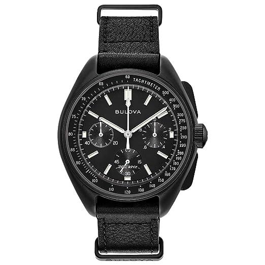 4d15a5c1e1f Image Unavailable. Image not available for. Colour  Bulova Men s Chronograph  Apollo 15 Moon Watch