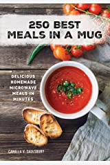 250 Best Meals in a Mug: Delicious Homemade Microwave Meals in Minutes Paperback