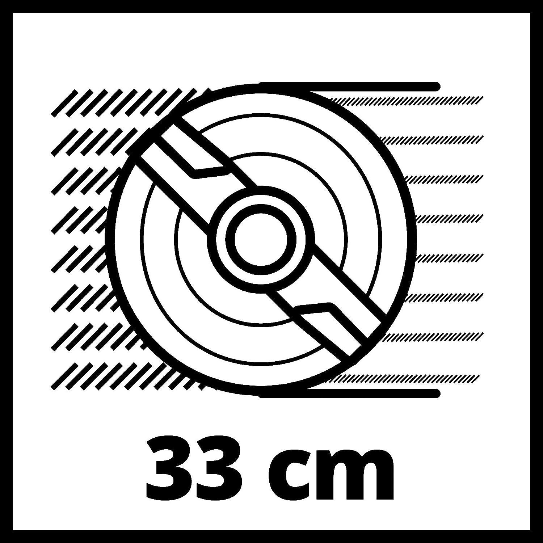 Einhell Akku-Rasenm/äher GE-CM 33 Li-Solo Power X-Change Li-Ion, 36 V, bis 200 m/², 33 cm Schnittbreite, 3-stufige zentrale Schnitth/öhenverstellung, ohne Akku und Ladeger/ät