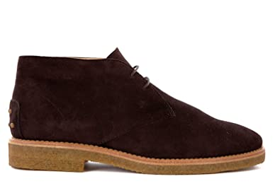Amazon.com | Tod's women's suede desert boots lace up ankle boots ...