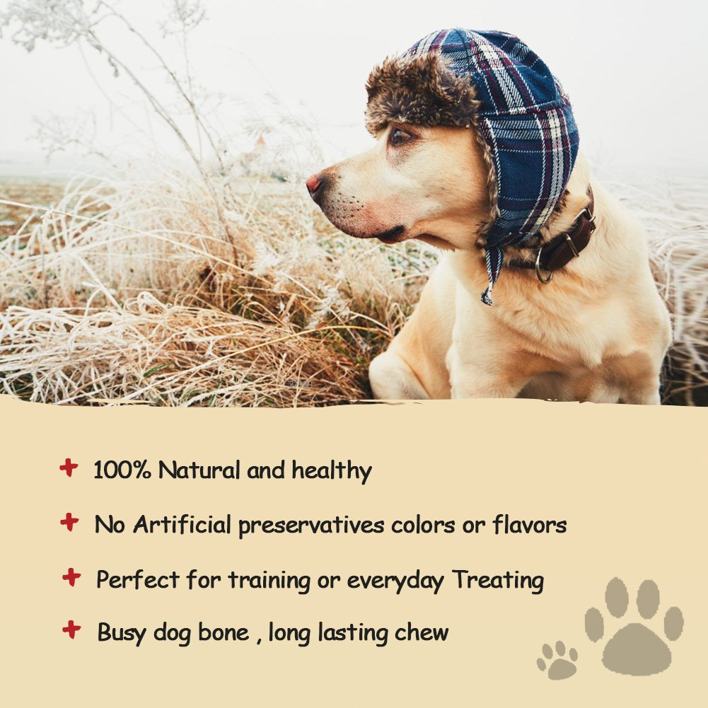 Pet Cuisine Dog Treats Puppy Chews Training Snacks,Chicken Wrap Knotted Bones-6.5'',12 oz by Pet Cuisine (Image #3)