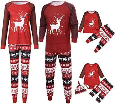 2019 Pijama De Navidad Ropa Feo Navidad Familia Festiva ...