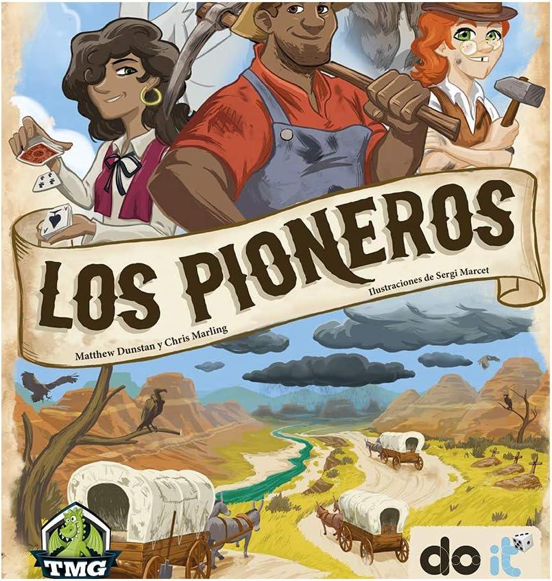 DOIT Los Pioneros - Juego de Mesa [Castellano]: Amazon.es ...