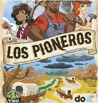 DOIT Los Pioneros - Juego de Mesa [Castellano]: Amazon.es: Juguetes y juegos