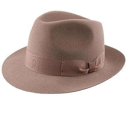 893c9c8d3 Classic Italy Heritage Bogart Wool Felt Fedora Hat Water Repellent