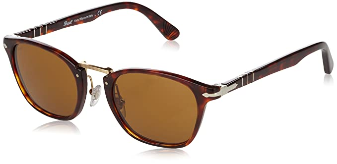 6bd31dbda3 Amazon.com  Persol 24 33 Havana Po 3110-s - Brown Sunglasses  Persol ...