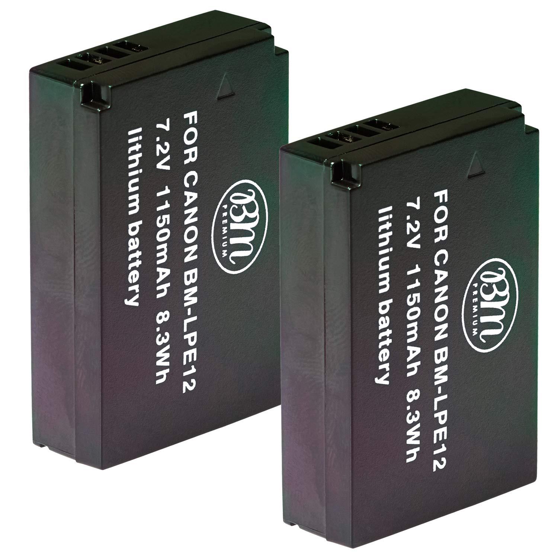 2 Baterias Para Canon Sx70 Hs, Rebel Sl1, Eos-m, Eos M2