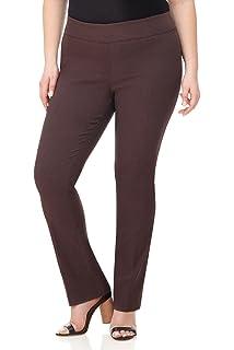 3a3d3b814d4 Rekucci Travel in Style - Curvy Woman Classic Straight Leg Plus Size ...