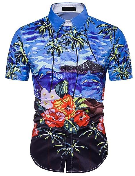 Pinkpum Funky Camisa Hawaiana qbFMq