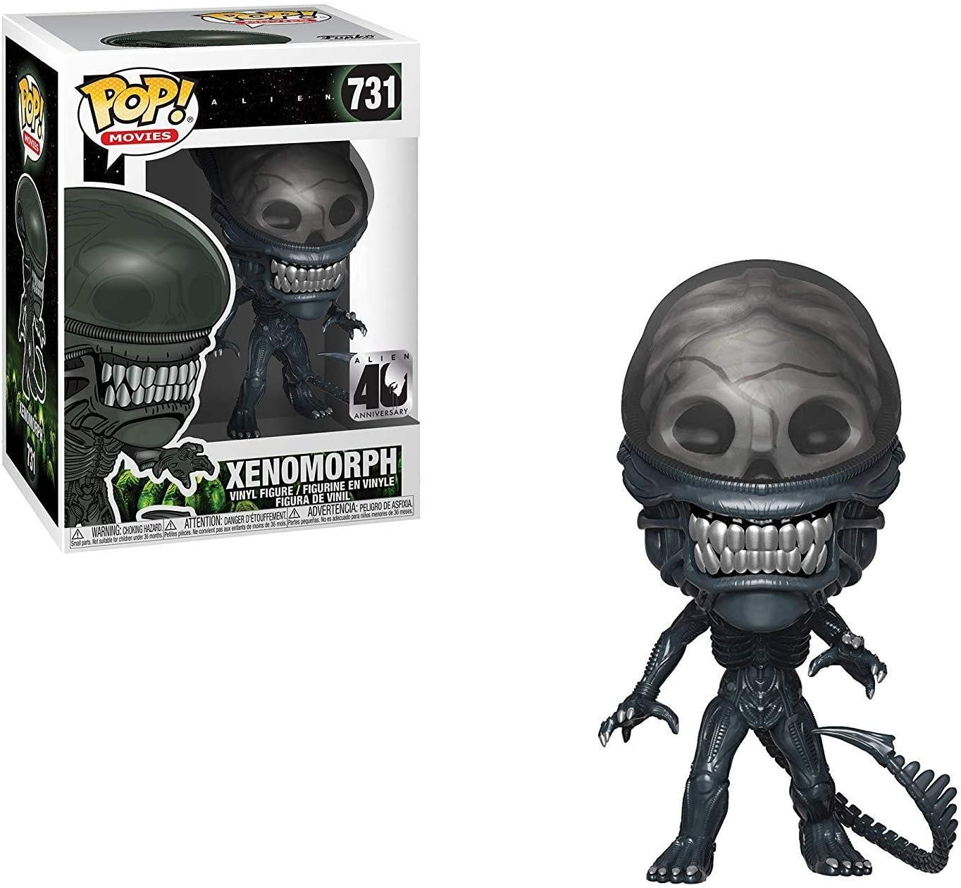 Funko- Pop Vinilo: Alien 40th
