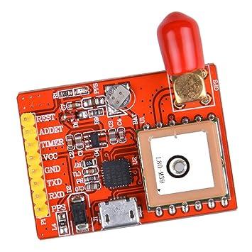 Tarjeta del Módulo NEO-6M GY-NEO6MV2 De GPS con Antena para ...