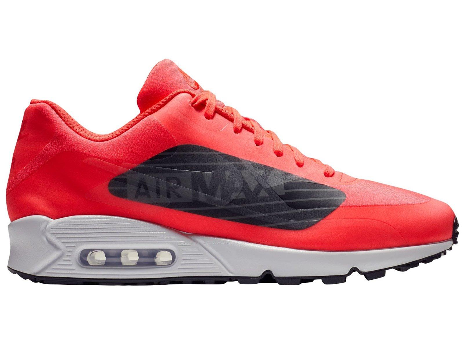 promo code d1b70 1f2c6 Galleon - NIKE Men s Air Max 90 NS GPX SP Bright Crimson Black White Dark  Grey Synthetic Running Shoes 14 D(M) US