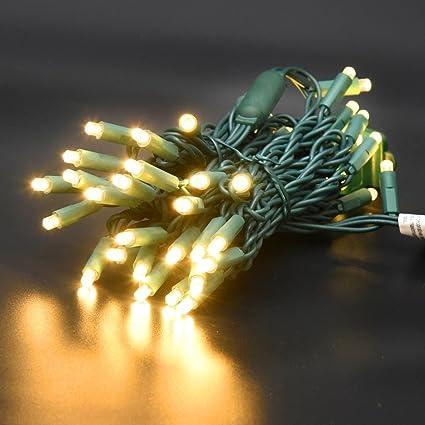 Amazon Com 120v Ul Certified 50 Count 5mm Led Christmas Lights