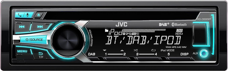 Jvc Kd Db95bte Usb Cd Receiver Mit Dab Tuner Front Aux Elektronik