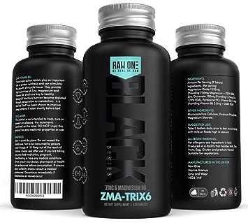 ZMA Extreme | Zinc, Maganesium y Vitamina B6 ZMA Suplemento | Promueva la fuerza muscular