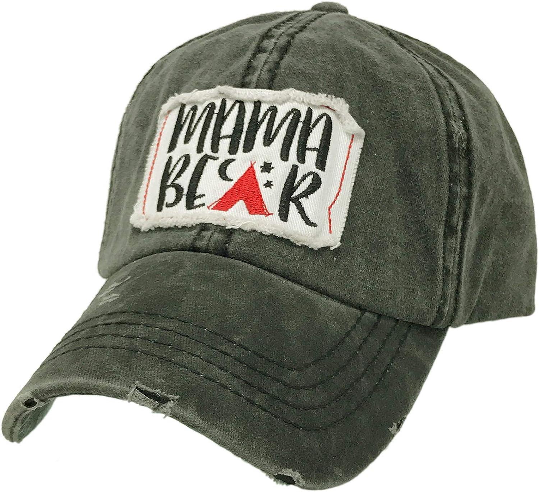 Mama California Bear Floral Denim Sports Hat Men//Women Pattern Cowboy Snapback Hat