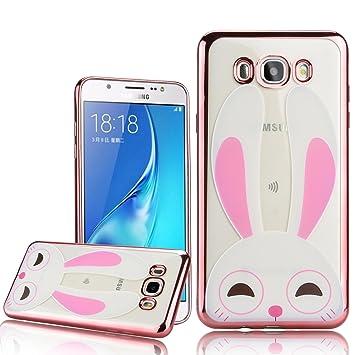 WE LOVE CASE para Samsung J7 2016 Funda Diseño Cute Bunny ...