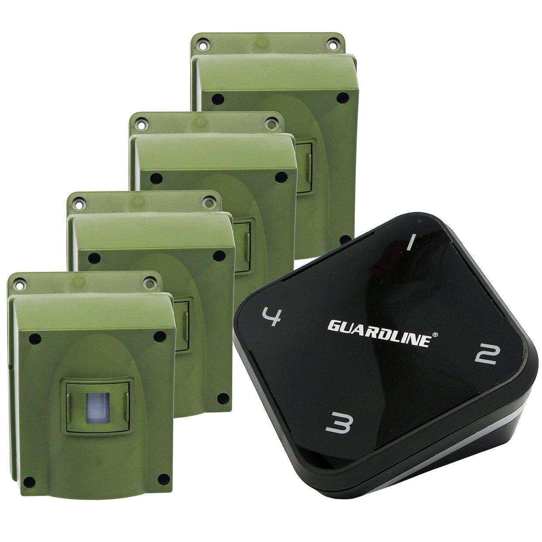 Amazon.com: Alarma de conducción inalámbrica de 1/4 de largo ...