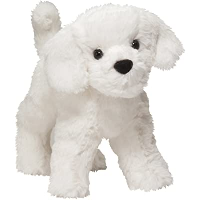 Douglas Dandelion Puff Bichon Plush Stuffed Animal: Toys & Games