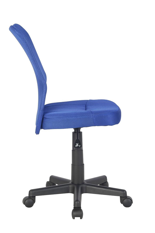 Sixbros Silla De Oficina Silla Giratoria Azul H 298f 2065  # Muebles Sixbros