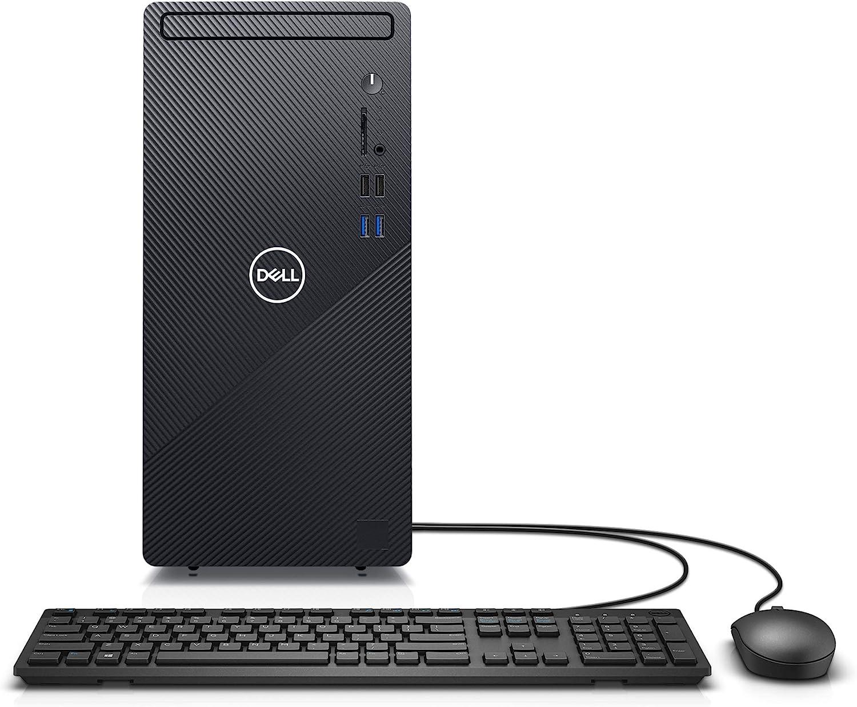 Amazon Com Dell Inspiron Desktop 3880 Intel Core I5 10th Gen 12gb Memory 512gb Solid State Drive Windows 10 Pro 2 Year On Site Latest Model Black Computers Accessories