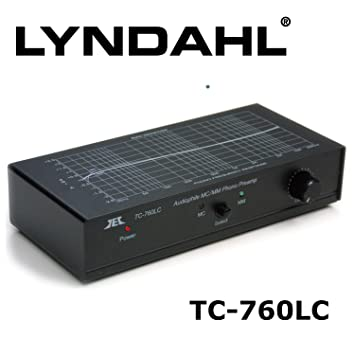 Lyndahl ecualizador preamplificador EUP2 fuente de alimentación variable nivel de salida, RCA para conectar TC760LC
