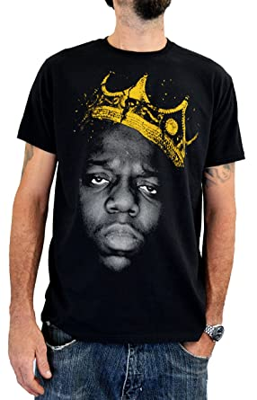 afe79c11c Faces | Notorious B.I.G. | Men's Organic T-Shirt Hand Printed In Italy