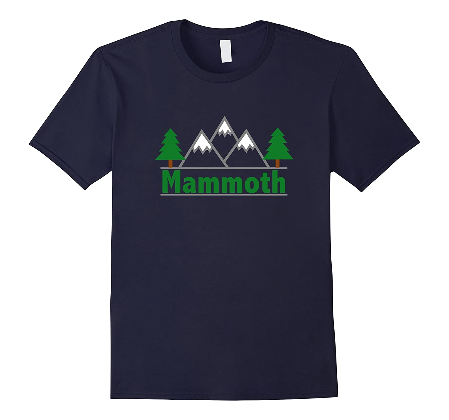 Mammoth California – Mountain Trees Color T-Shirt-RT – Rateeshirt 6893248751