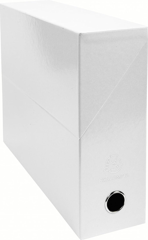 Exacompta 89931E Boite transfert papier 9 cm Blanc