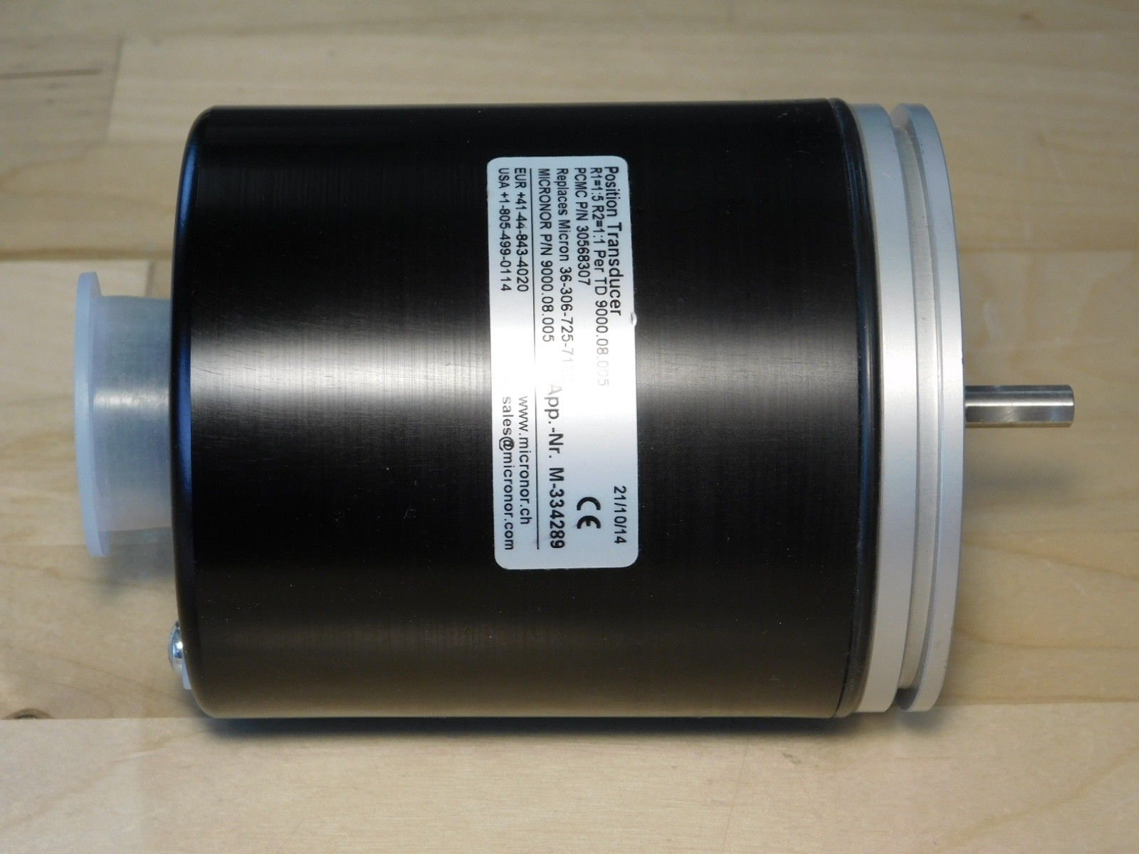 BRAND NEW - PCMC 30568307 Position Transducer / Micronor 9000.08.005