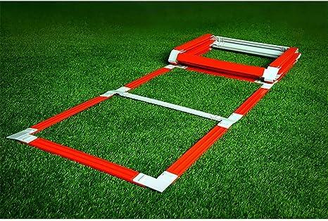 Xin Escalera for Agilidad, Velocidad de Entrenamiento de Ejercicios Escaleras Fútbol Fútbol Boxeo Juego de piernas Deportes Velocidad Entrenamiento de la Agilidad, 5M 11 Peldaño: Amazon.es: Deportes y aire libre