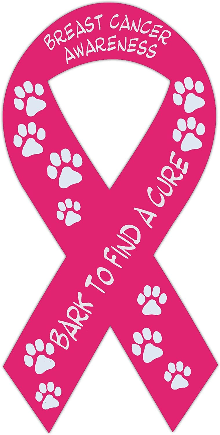 Hope Pink Ribbon Breast Cancer Awareness Car Truck Auto Refrigerator Magnet