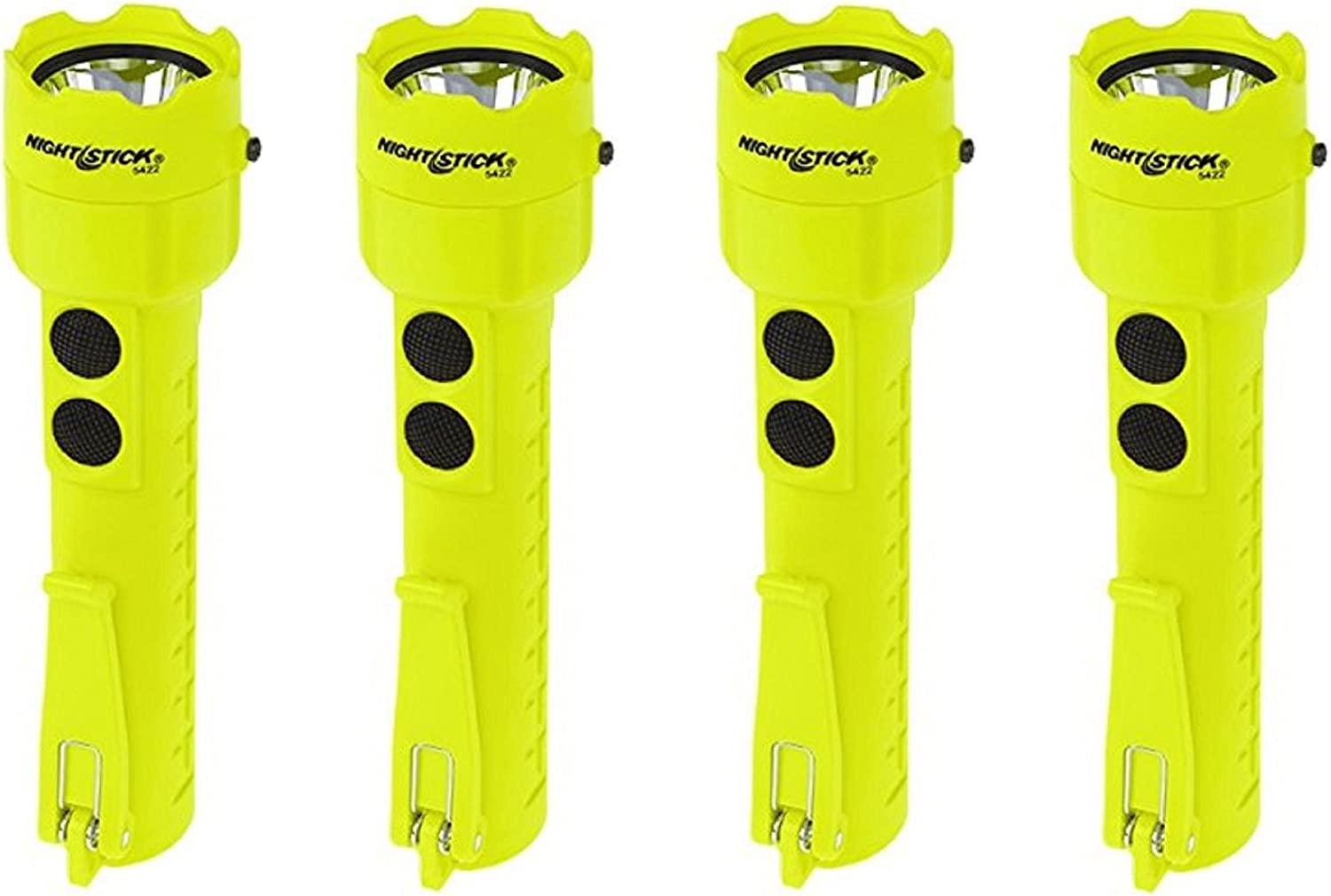 (4 Pack) Nightstick XPP-5422G 3 AA Intrinsically Safe Permissible Dual-Light Flashlight, Green 71s1lZ4d5ELSL1500_