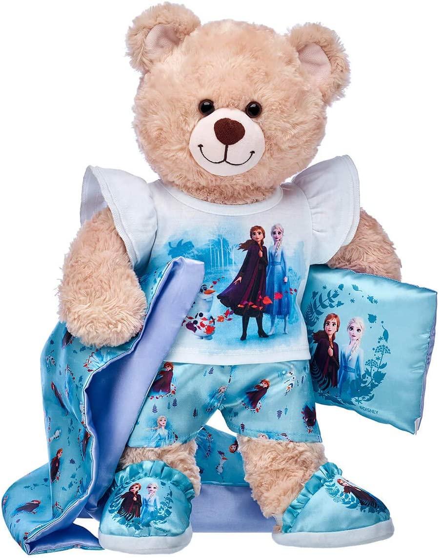 Build A Bear Workshop Happy Hugs Teddy Disney Frozen 2 Gift Set