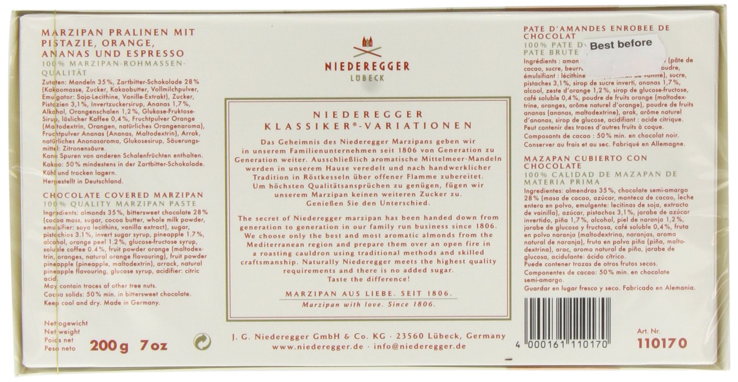 Niederegger Classic Marzipan Variations - 200 g/7.0 oz by Niederegger (Image #3)