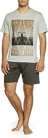 Pijama Hombre Verano Queens: Amazon.es: Ropa