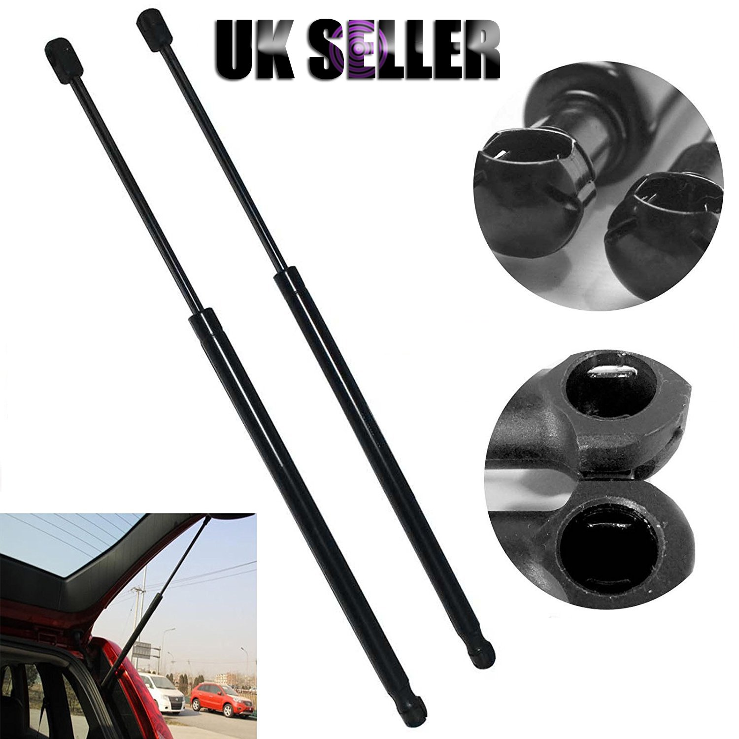 2Pcs Tailgate Double Gas Struts Boot Lift Hatchback For Ford Mondeo III 2000-2007 - New Design AutoBaBa
