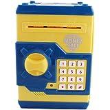 Toyshine Money Safe Kids Piggy Savings Bank with Electronic Lock (Yellow)