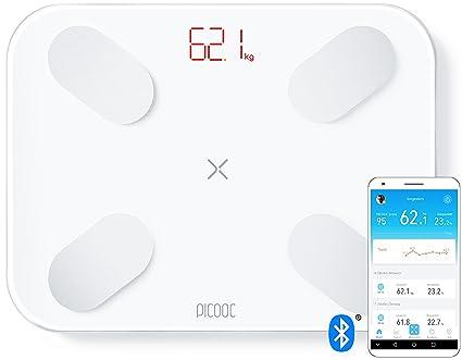 PICOOC S1 pro, báscula digital personal Smart con App, Bluetooth, análisis largo plazo