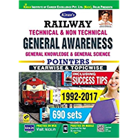 KIRAN'S RAILWAY TECHNICAL & NON TECHNICAL GENERAL AWARENESS POINTERS YEARWISE & TOPICWISE ENGLISH