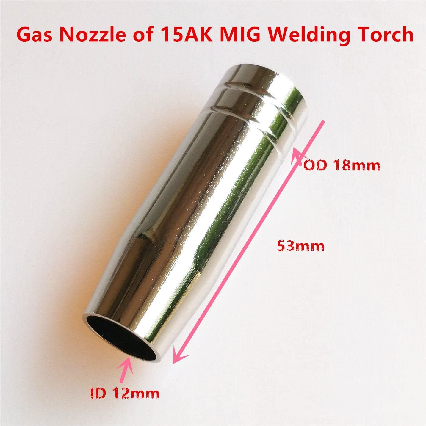 13pcs 15AK Welding Torch Consumables 0.6mm 0.8mm 0.9mm 1.0mm 1.2mm MIG Torch Gas Nozzle Tip Holder for 15AK 14AK MIG MAG Welding Machine 0.9mm 0.035