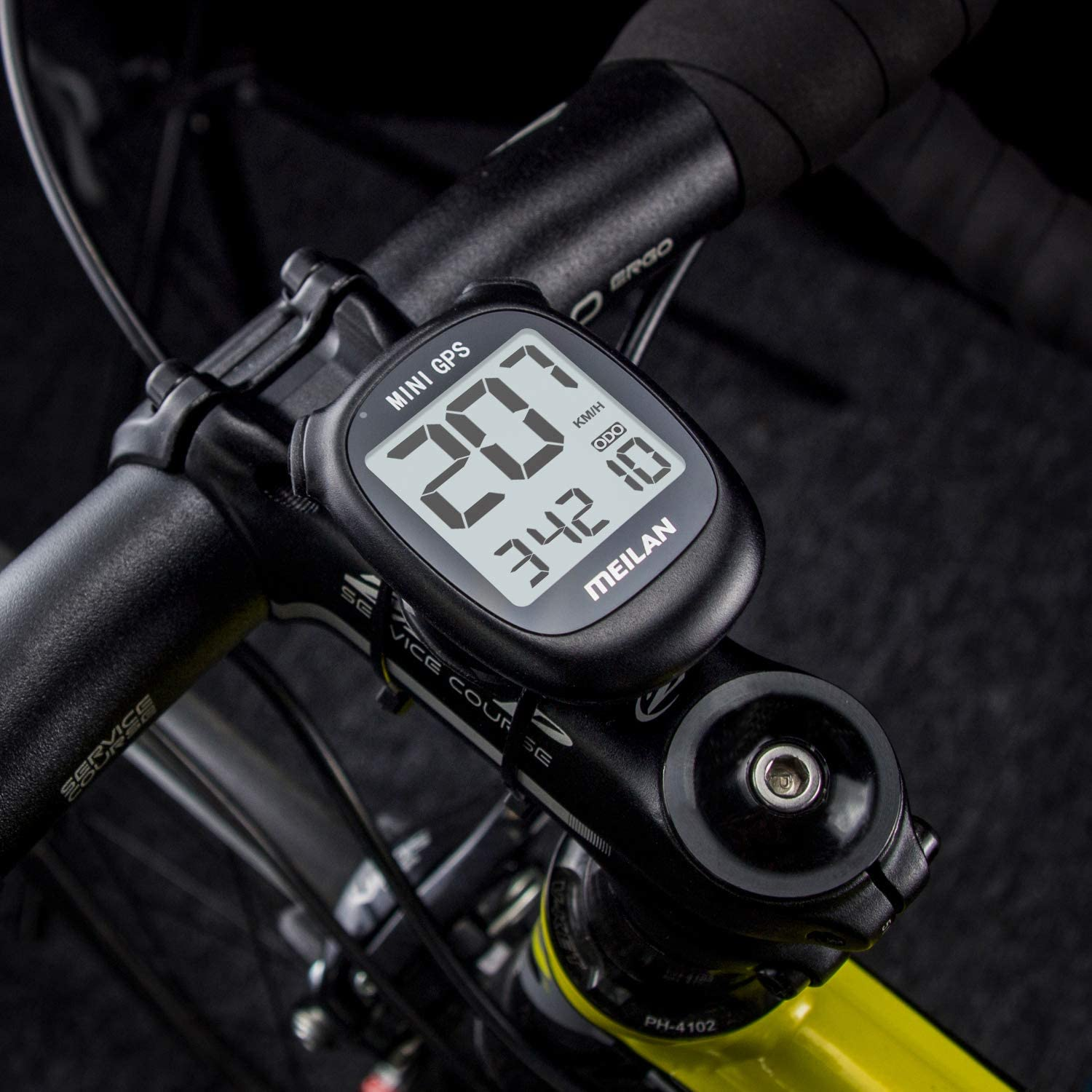 MEILAN M3 Mini GPS Bike Computer Wireless Cycling Computer Bicycle Speedometer and Odometer Waterproof Cycle Computer Bicycle Computer