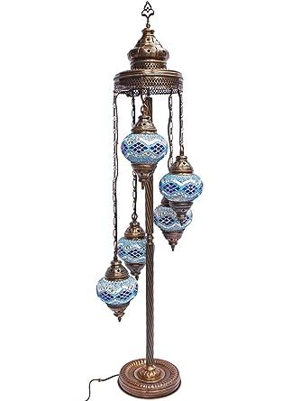 Mosaic Lamps Turkish Lamp Moroccan Floor Lights Unique