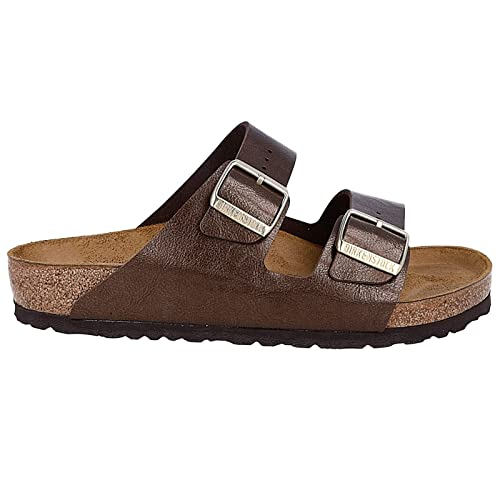 1d547b1950e Image Unavailable. Image not available for. Color  Birkenstock Womens  Arizona Graceful Toffee Birko-Flor Sandals ...