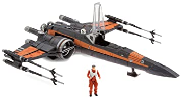 Star Wars Poe Dameron And X Wing Fighter Set Star Wars The Last
